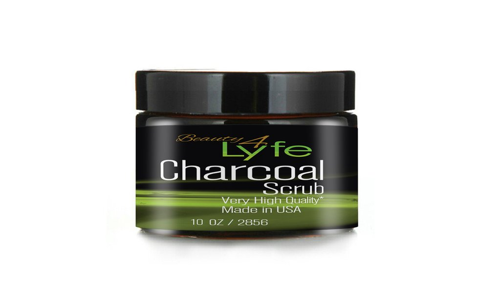 Beauty 4 Lyfe Activated Charcoal Body Scrub
