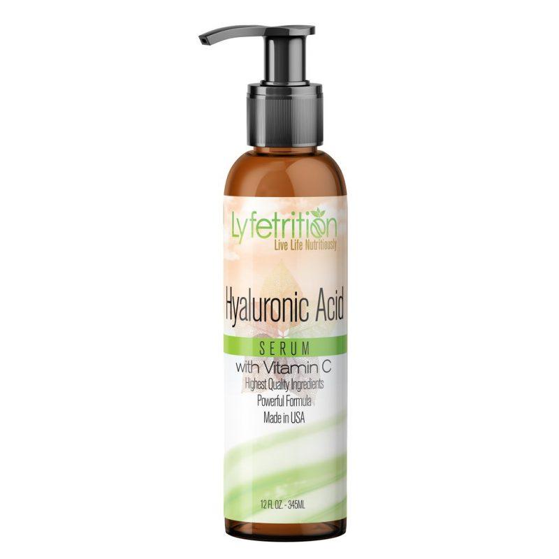 Hyaluronic Acid Serum with Vitamin C 12 oz Large Bottle