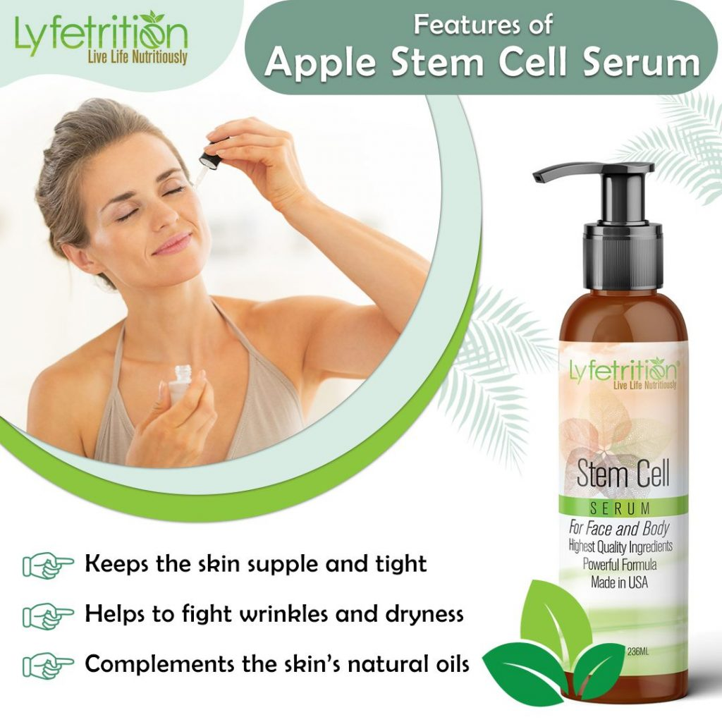 Features of Apple Stem Cell Serum